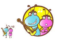 原创卡通蚂蚁乐队 AI