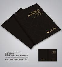中国风黑色封面设计 CDR