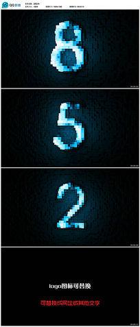 10秒倒计时logo演绎ae片头模板