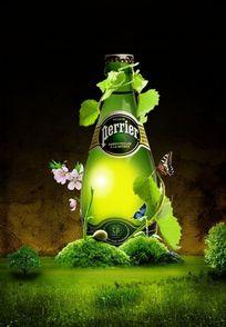 国外啤酒广告psd设计素材
