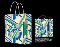 精美绿色饰品袋