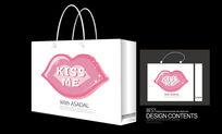 kiss漂亮生日礼品手提袋