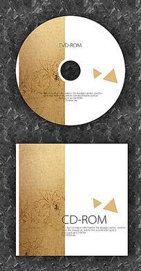 牛皮纸时尚CD光盘设计 PSD