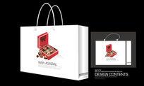 巧克力生日礼品手提袋