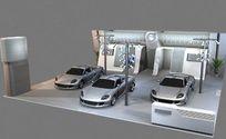 汽车展厅造型设计3D模型素材