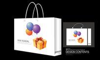 气球生日礼品手提袋