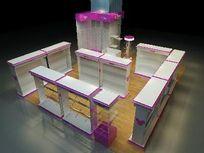 装饰柜展示柜展厅设计3D模型