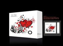 点心礼盒精美爱心礼品包装盒