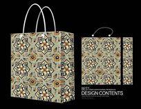 漂亮花卉手提袋