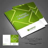 绿色环保科技公司画册封面