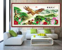 大展鸿图室内装饰画