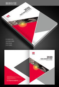 红灰科技画册封面