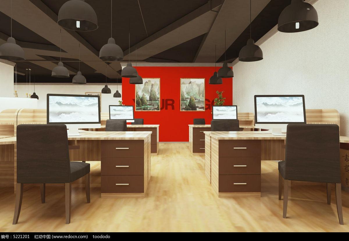 原创设计稿 海报设计/宣传单/广告牌 vi设计|vi模板 办公室背景墙挂画图片