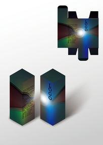 阳光设计高档包装盒模板