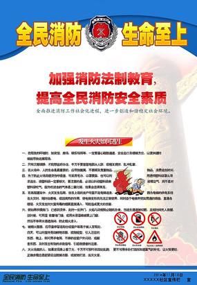 消防官兵防火宣传栏 消防防火宣传展板 森林防火宣传展板 创意森林