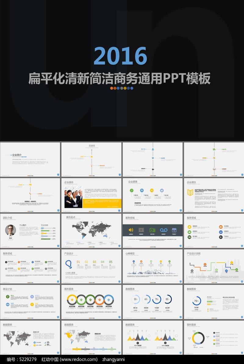 商业策划书大学生创业企业介绍ppt模板