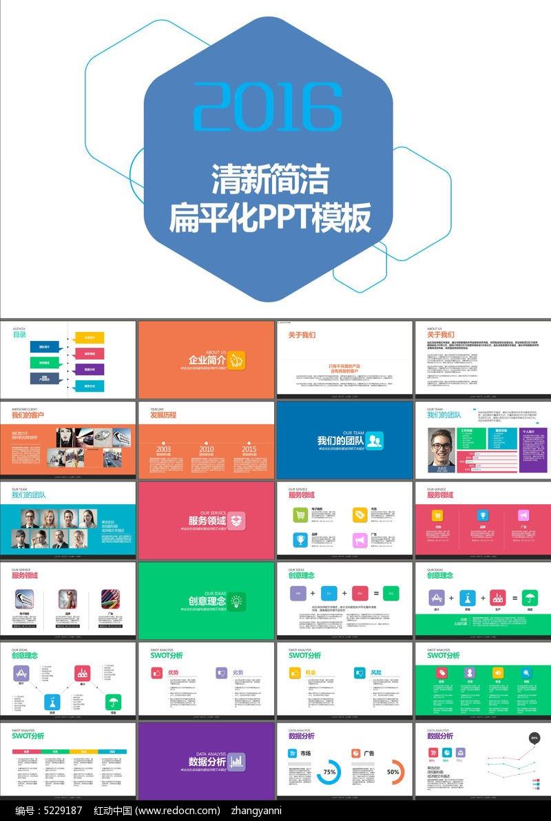 商业策划书项目展示企业介绍ppt模板