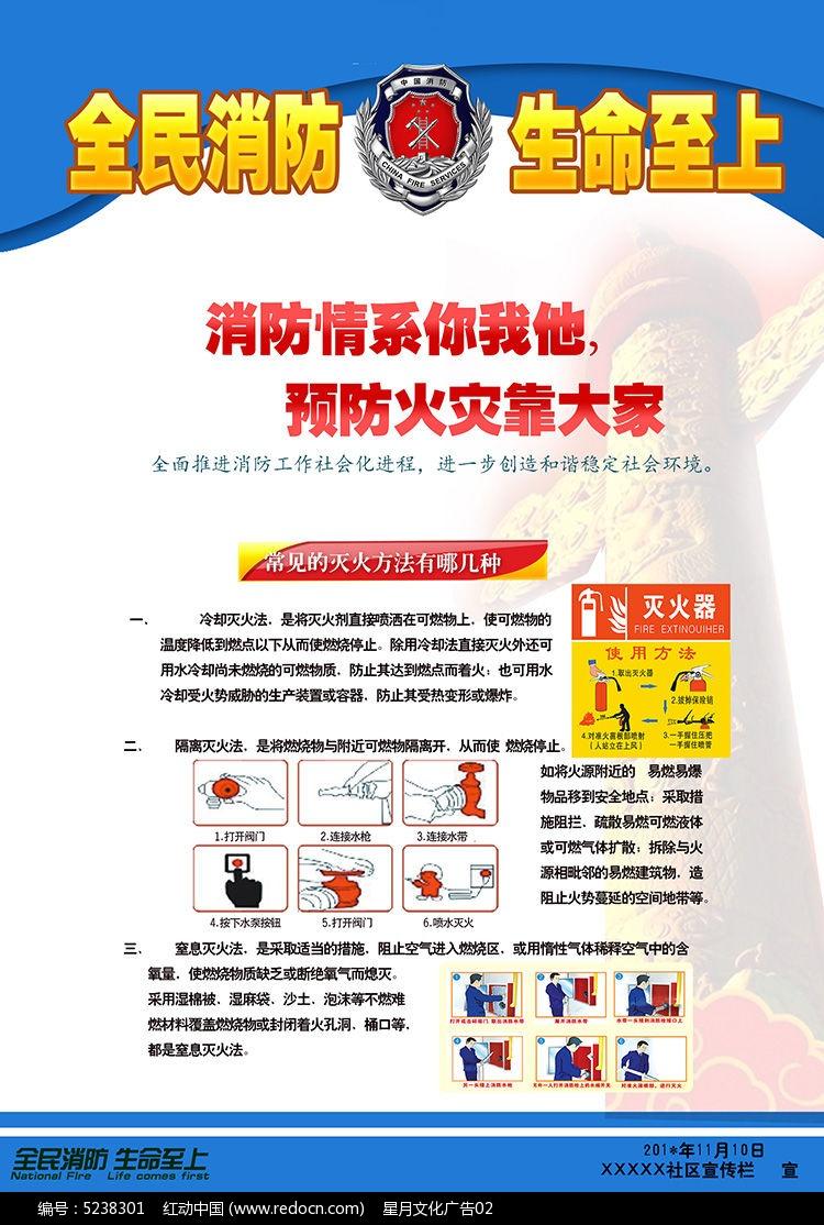 消防安全宣传海报图片