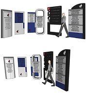 整套现代感指示系统SU模型