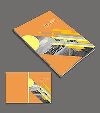 大气金融画册封面设计