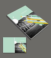 绿色商务画册封面设计