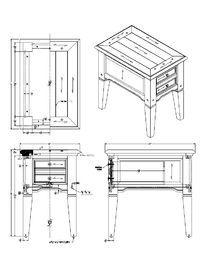 带截图小桌子CAD素材cad怎么抽屉某个平面图地方图片