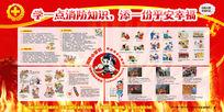 防火知识宣传栏模板
