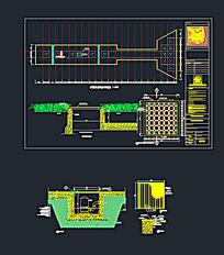 喷泉设计CAD素材 dwg