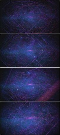 2k超清蓝色光线网背景视频素材