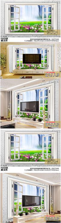 手绘墙壁画图片_手绘墙壁画设计素材