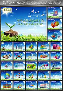 环保企业PPT模版设计模板