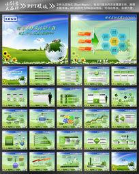环境保护ppt设计模板