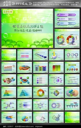 绿色科技产品宣传PPT
