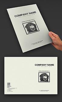 国外经典公司企业宣传画册封面设计