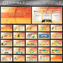 化妆品公司ppt设计模板