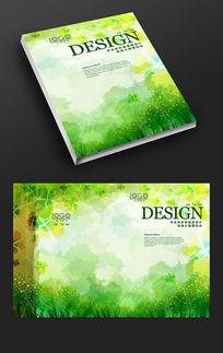 梦幻森林绿色画册