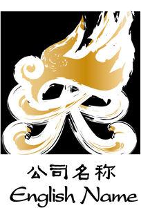 印章龙形商业标志