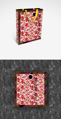 抽象画展时尚展会手提袋