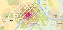 房产公司区位图