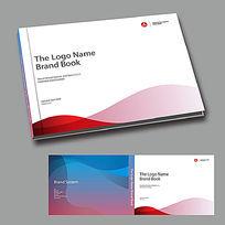 红色科技电子商务画册封面设计