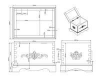 箱子设计CAD素材