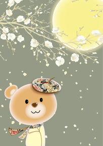 小熊插画 EPS