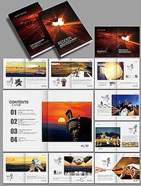 高档企业文化画册设计