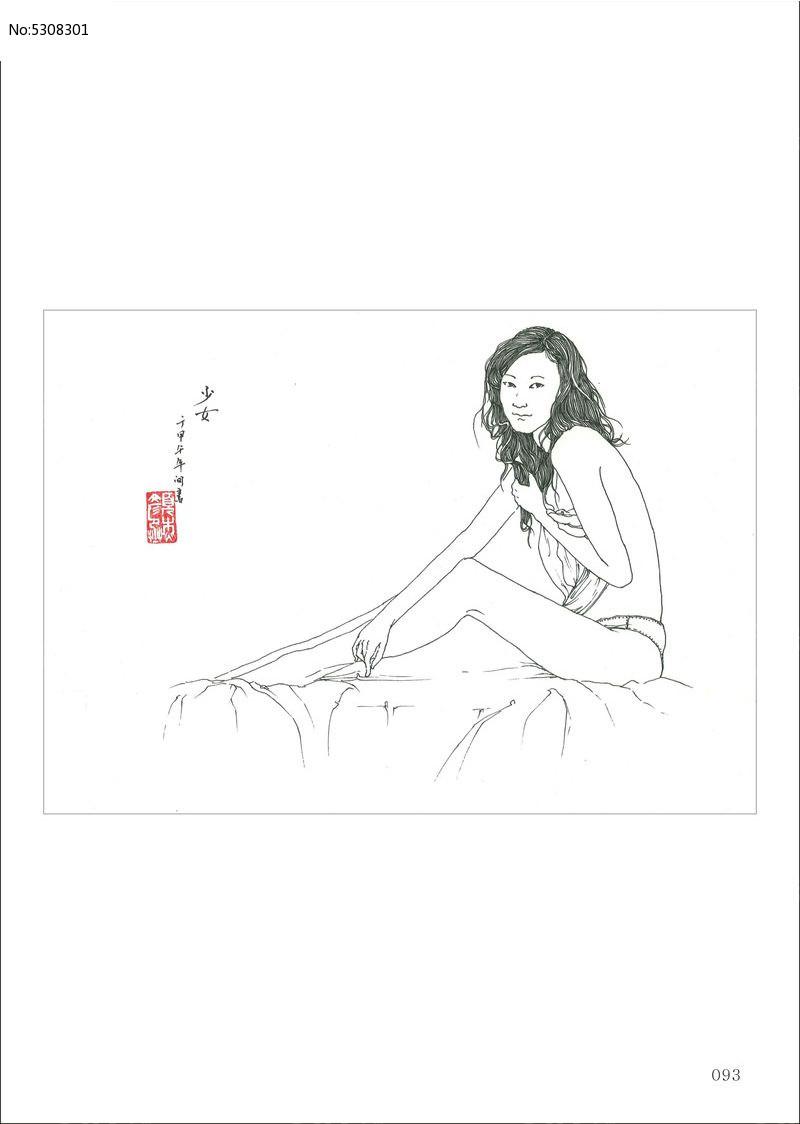 手绘  插画 水彩 工笔