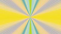 彩色缤纷线条隧道变幻的视频素材