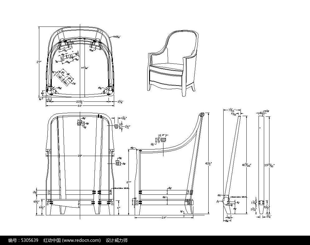 autocad家具设计