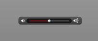 实用声音调节按钮 网页音量调节器PSD素材