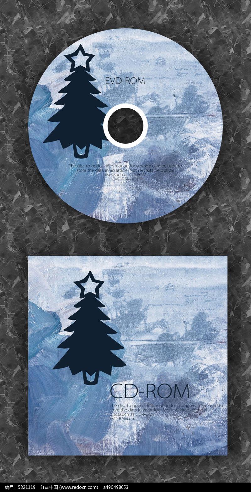 圣诞节日音乐dvd光盘设计图片