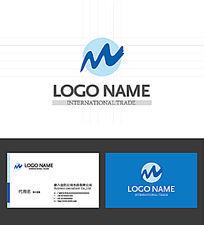 雪山山峰LOGO标志设计