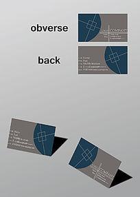 个性创意名片模板